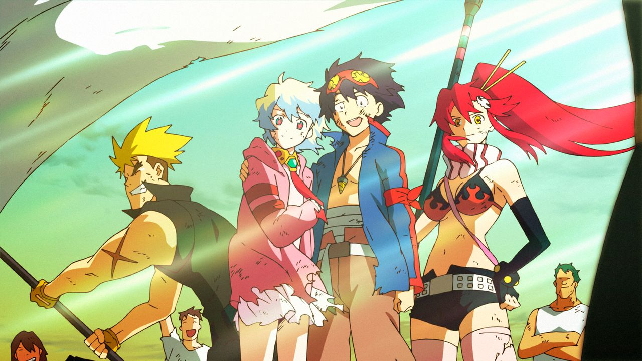 Gurren Lagann: The Movie: The Lights in the Sky Are Stars ...