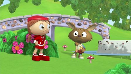 The Rolling Rice Cakes Super Why